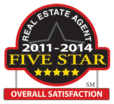 Real Estate Agent Five Star 2011-2013
